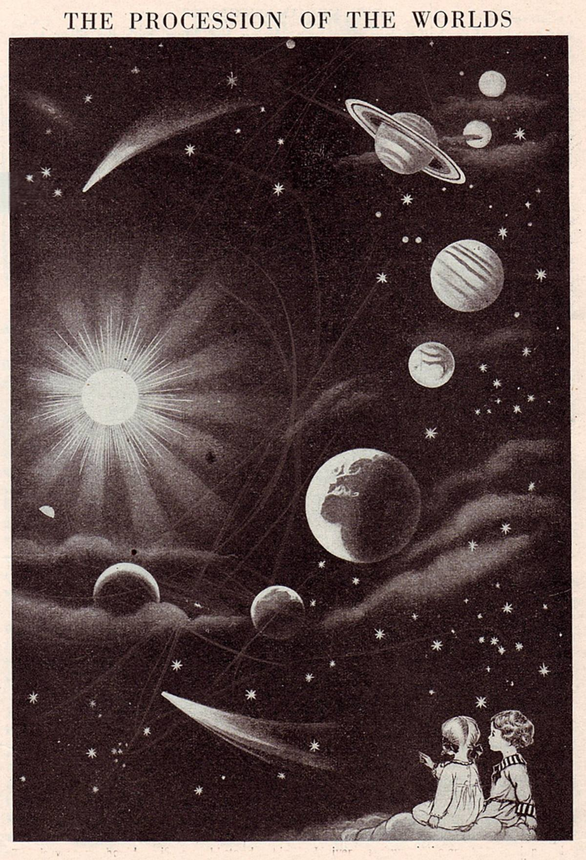 "Illustration from Arthur Mee, ""The Children's Encyclopedia"""