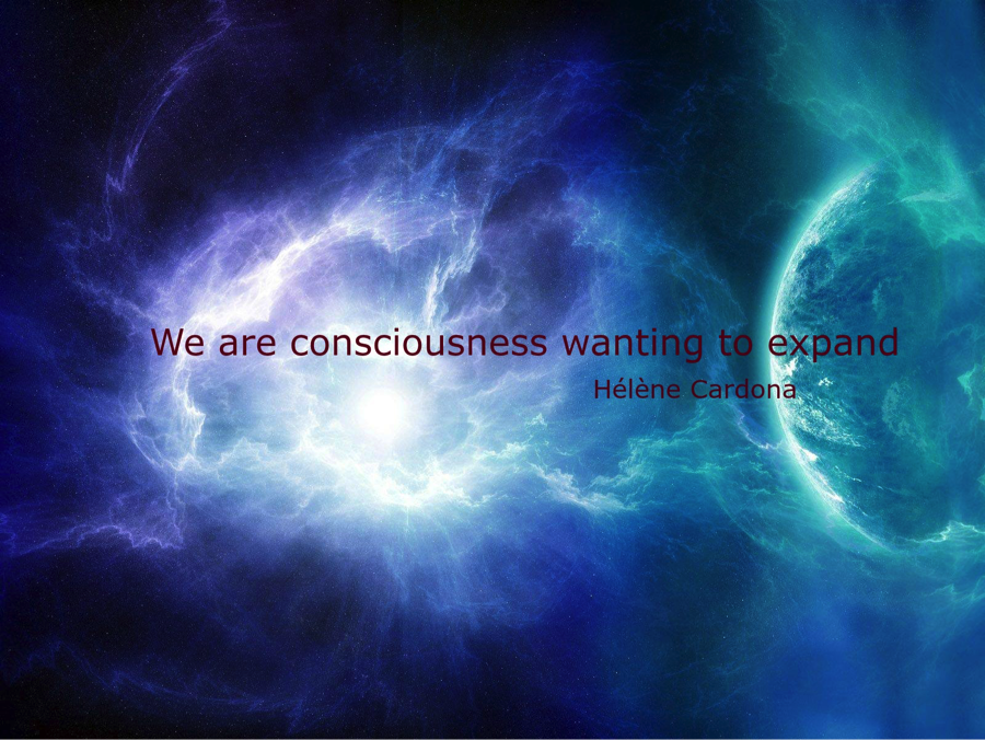 Dreamwork—We are consciousness