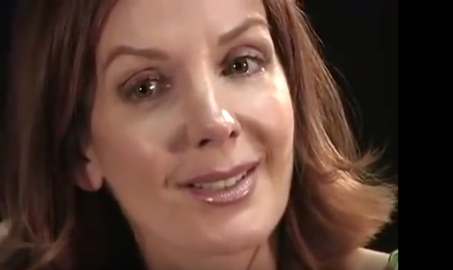 """As Natasha Loizeau in """"Interview"""""""
